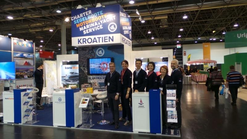 Garant Charter team - Dusseldorf Boat Show