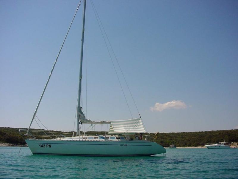 Elan 331 - Irena, naša prva jedrilica u Marini Punat