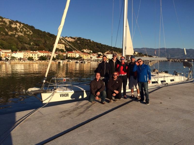 Skipper trainings on island Krk, Kvarner area, North Croatia