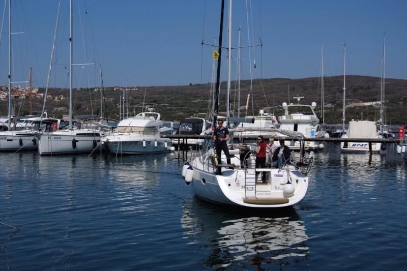 Skipper training (30.03.-02.04.2017) - Garant Charter, Marina Punat, island Krk